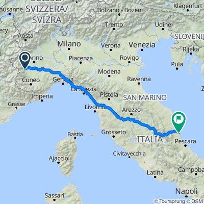 Road to Abruzzo