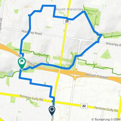 5km Radius - Bike Route 2