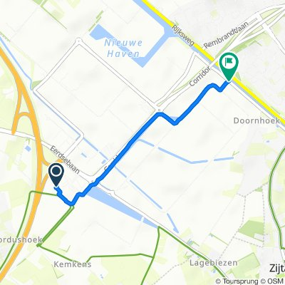 Poort van Veghel 4933, Veghel naar Doornhoek 3748, Veghel