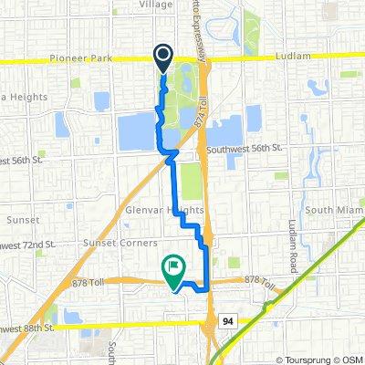 7900 SW 40th St, Miami to 8000 SW 81st Dr, Miami