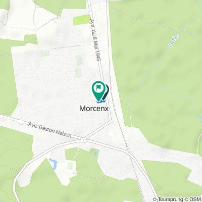 De 7 Place Aristide Briand, Morcenx à 21 Place Aristide Briand, Morcenx
