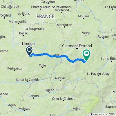 De Coussac-Bonneval à Le Bourg 997, Saint-Martin-d'Ollières