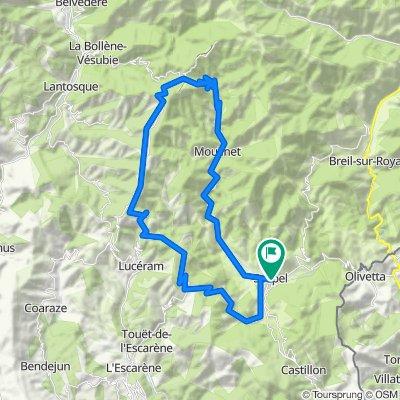 Ruta Sospel-Col de Turini-Col de Braus-Sospel