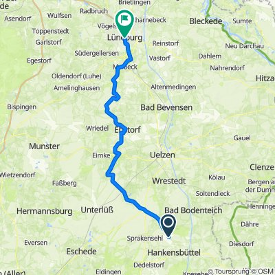 Am Kiebitzberg 2, Obernholz nach Am Sande 22, Lüneburg