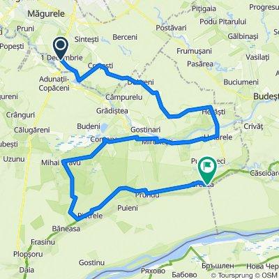 Singletrack de 97 km prin Giurgiu