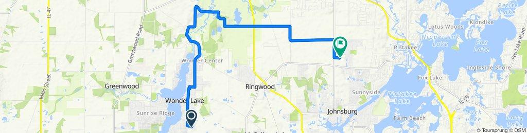 7409 Wooded Shore Dr, Wonder Lake to 2402 Hiller Ridge, Johnsburg