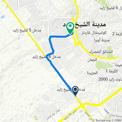 Waslet Dahshur Road to Giza Governorate