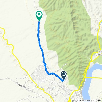 Jammu to National Highway 144A, Dhar Dhrochan