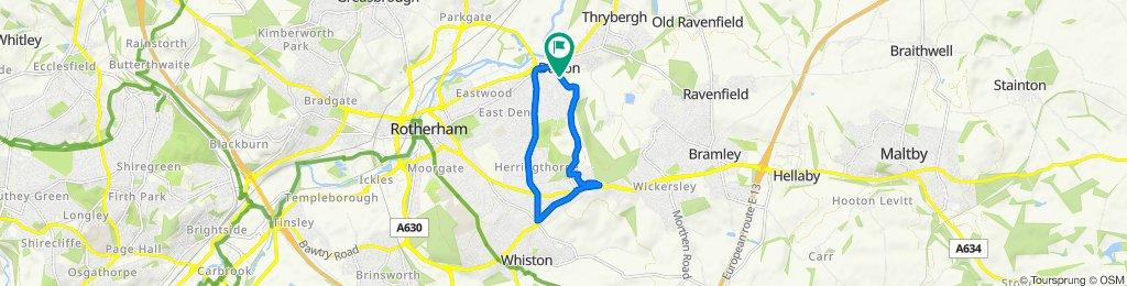102 Dalton Lane, Rotherham to 104 Dalton Lane, Rotherham