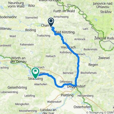 Am Fuchsbühl 14, Cham nach Stadtgraben 40, Straubing