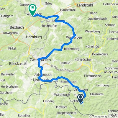 RLP2: Eppenbrunn - Waldmoor 76km 720hm