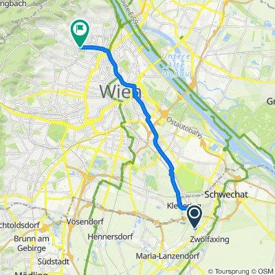 Lanzendorf Radfahren
