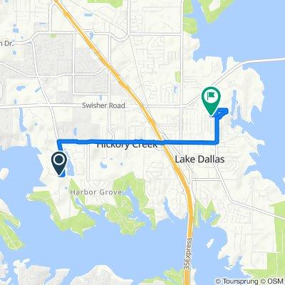 3031–3133 Maynard Rd, Hickory Creek to 523 Clancy Ln, Lake Dallas