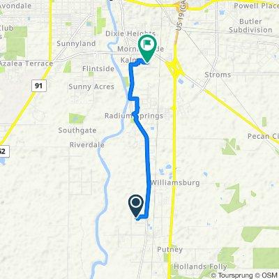 806 Shelton Ct, Albany to 223 Whitehead Dr, Albany
