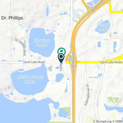 8001–8057 Turkey Lake Rd, Orlando to 7907–7999 Turkey Lake Rd, Orlando