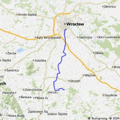 Wzgórza Niemczańskie i Równina Wrocławska