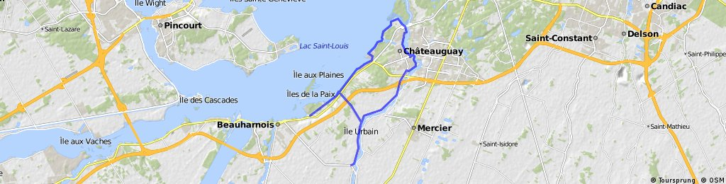 Chateauguay 35Km