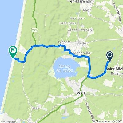 De Route des Chevreuils 773, Saint-Michel-Escalus à Unnamed Road, Vielle-Saint-Girons
