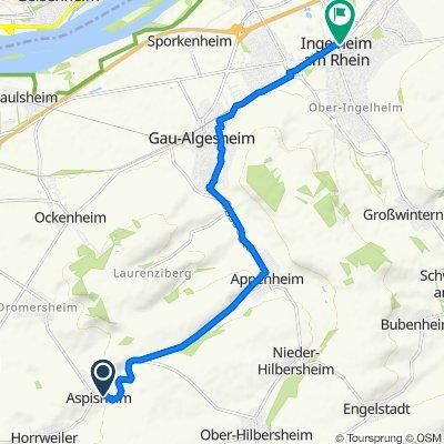 Dörrgasse 7, Aspisheim nach Drosselweg 20, Ingelheim am Rhein