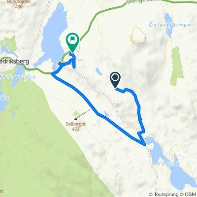 Route to Säfsbyn 438, Fredriksberg