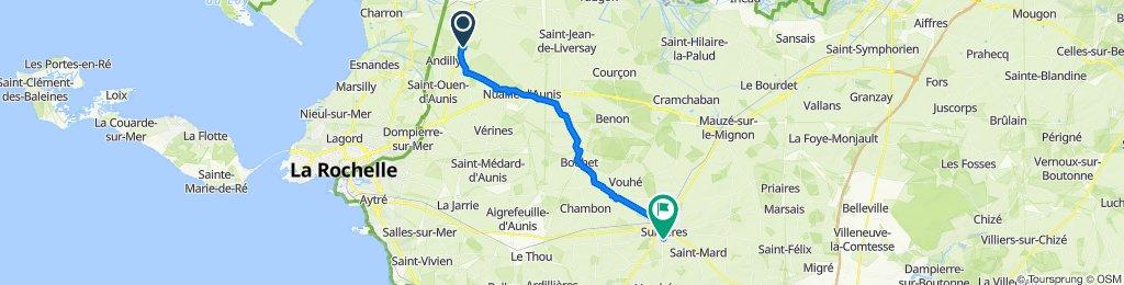 4 rue des charretiers à 1 Rue Saint-Michel, Surgères