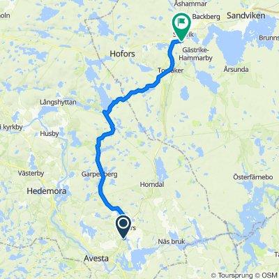 De Stora Dicka 201, Fors à E16, Storvik