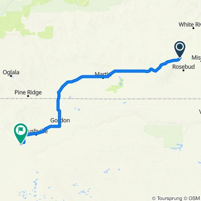 D3- Mission, SD to Hay Springs, NE