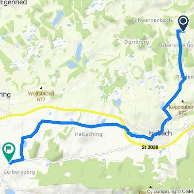 Siffelhofener Straße, Antdorf nach Leibersberg 5, Riegsee