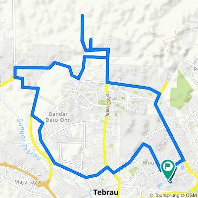 Ulu Tiram Cycling