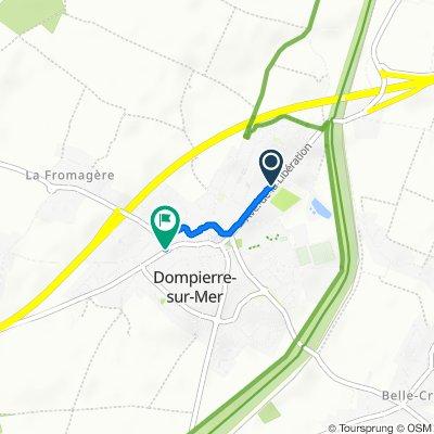 De 27 Avenue de la Libération, Dompierre-sur-Mer à 48 Rue du Général de Gaulle, Dompierre-sur-Mer