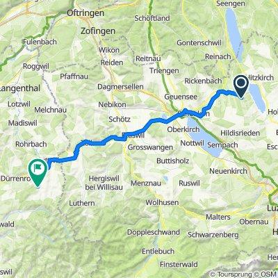 Dorf 6, Herlisberg nach Dorf 118E, Wyssachen
