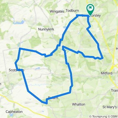 Longhorsley Cycling