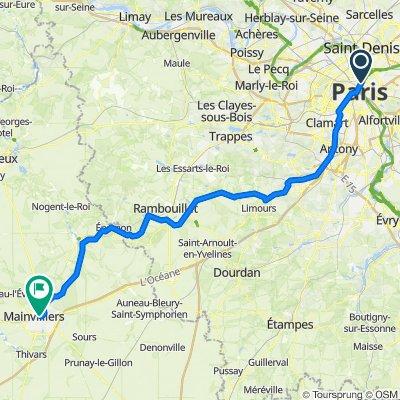 Day 1 - Paris - Chartres