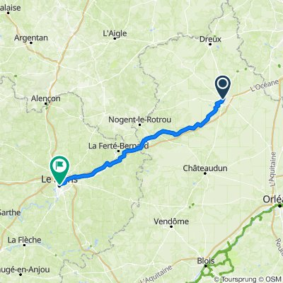 Day 2 - Chartres - Le Mans