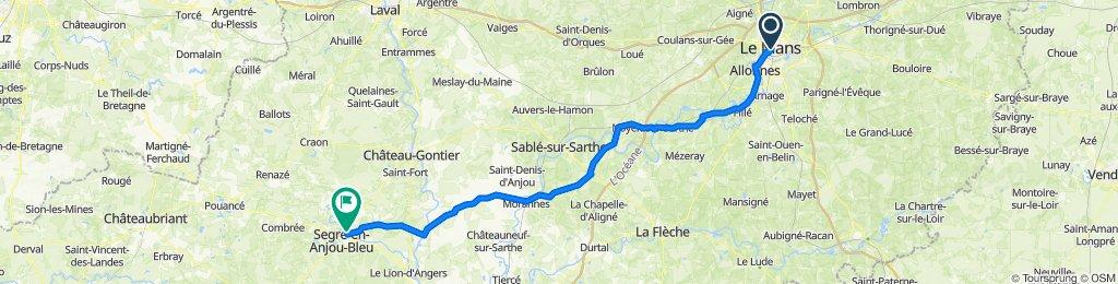 Day 3 - Le Mans - Ségré en Anjou
