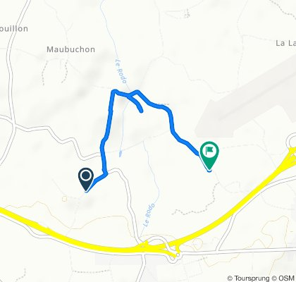 De 6–10 La Ville Pied, Plélo à 30 Bois Veloup, Trémuson