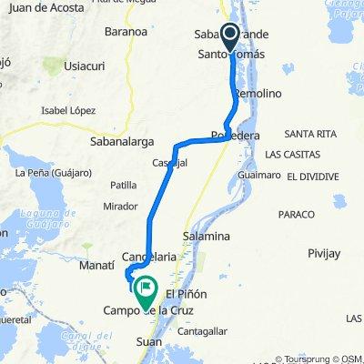 De Calle 9 4-100–4-2, Santo Tomás a Calle 9 11-1–11-99, Campo De La Cruz