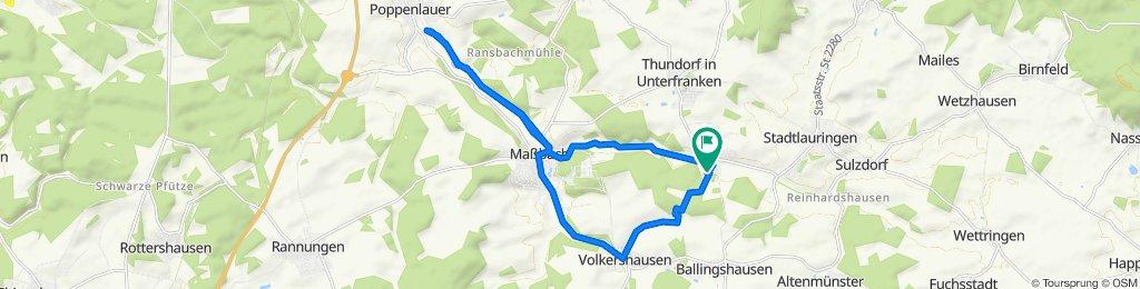 Klingenweg 3, Thundorf in Unterfranken nach Klingenweg 4, Thundorf in Unterfranken