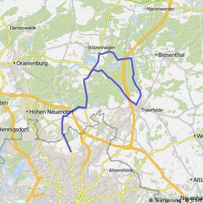 Pankow-Wandlitz-Bernau-Trainingsstrecke