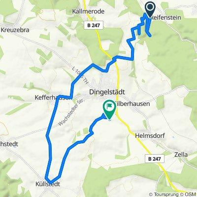 Reifenstein, Dingelstädt, Kefferhausen, Küllstedt, Dingelstädt