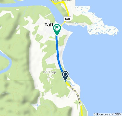 Sulat - Taft Road to Sulat - Taft Road