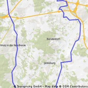 Cyclassics Südschleife Variante links