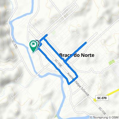 De Rua Rômulo Sandrini, 549–639, Braço do Norte a Rua Rômulo Sandrini, Braço do Norte