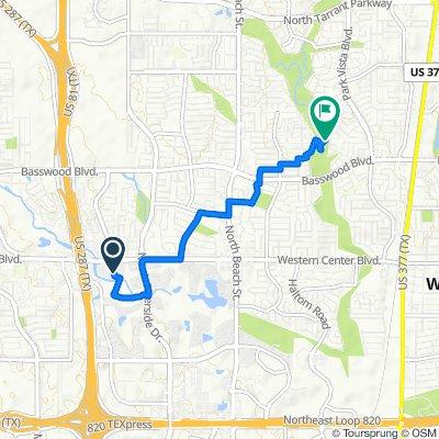 3400 Pebble Beach Way, Fort Worth to 7613 Arcadia Trail, Fort Worth