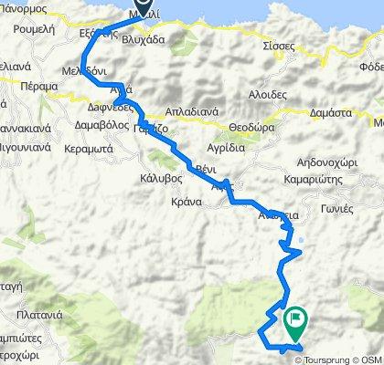 Skinakas climb from Bali