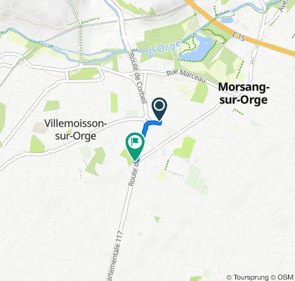 De 20–24 Avenue Félix Périn, Morsang-sur-Orge à 72 Route de Corbeil, Villemoisson-sur-Orge