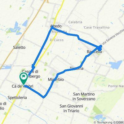 Da Via Cantarana 1, Ca' de' Fabbri a Via Ronchi Inferiore 33, Ca' de' Fabbri
