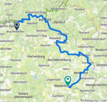 Rheinland-Pfalz-Radweg Etappe 2