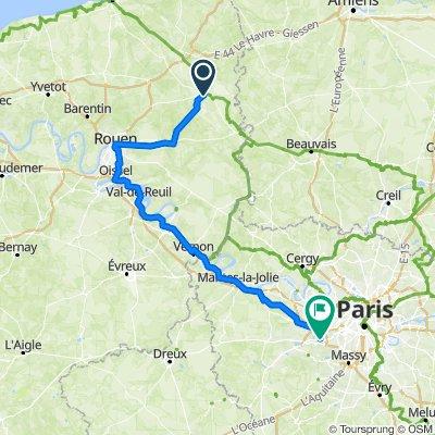 Route from Boulevard Nicolas Thiessé 3, Forges-les-Eaux