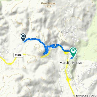 Da Contrada San Vito 19–21, Marsico Nuovo a Traversa Seconda San Donato 1, Marsico Nuovo